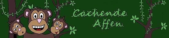Banner Cachende Affen