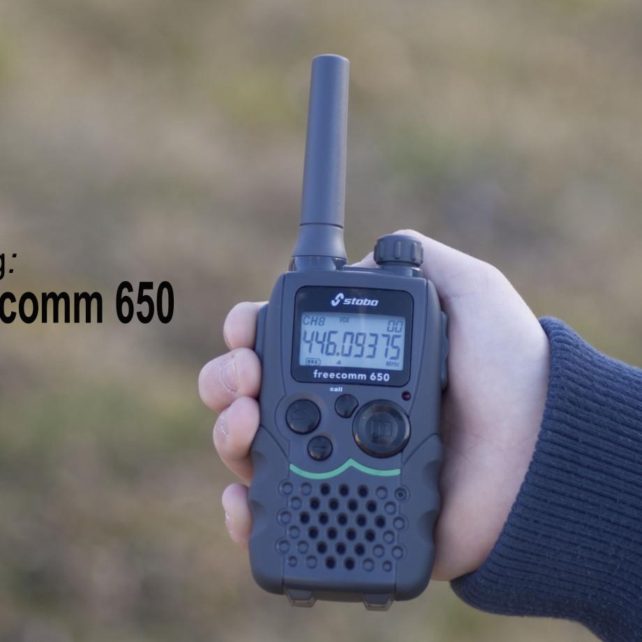 Vorstellung – stabo freecomm 650 Set