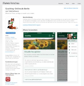 Gcaching-App